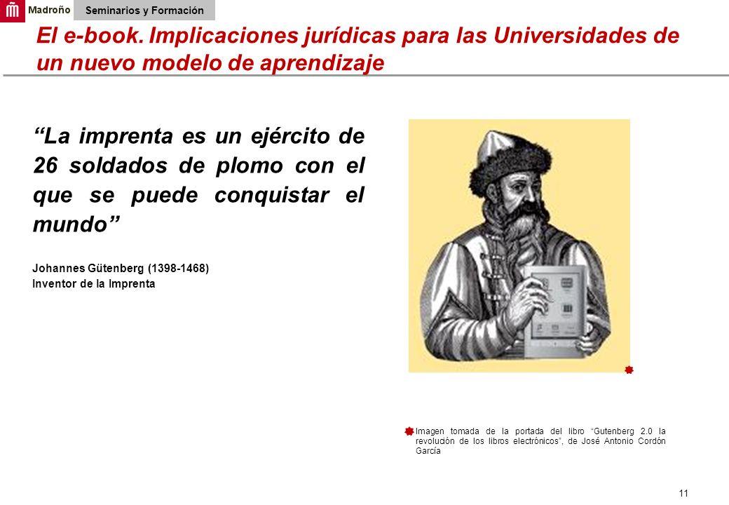 11 Seminarios y Formación El e-book.