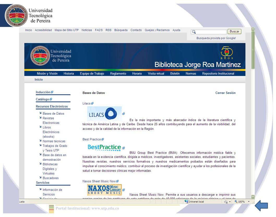 Los más destacados Endnote local y web (licenciado) EndNote Web, herramienta que permite crear y mantener bases de datos bibliográficas personales.