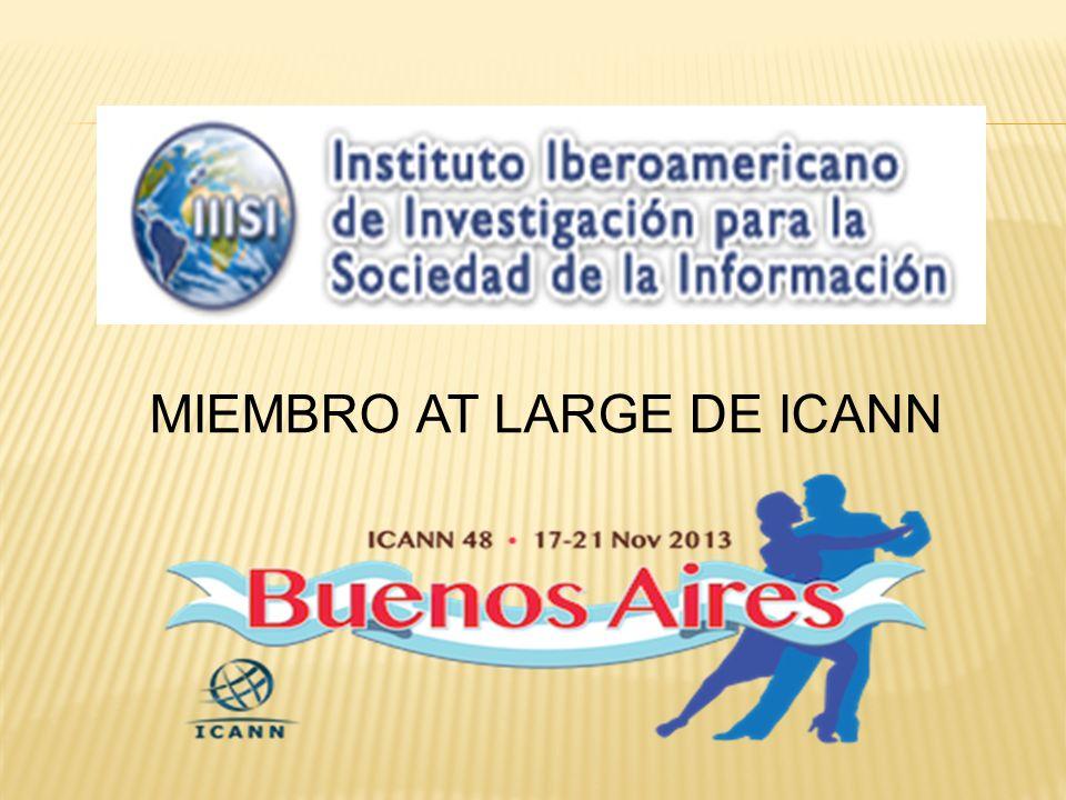 MIEMBRO AT LARGE DE ICANN