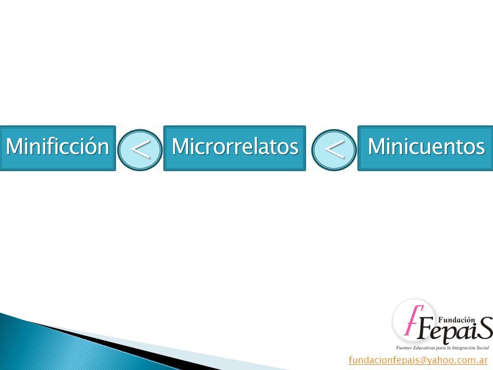 MinificciónMicrorrelatosMinicuentos <<