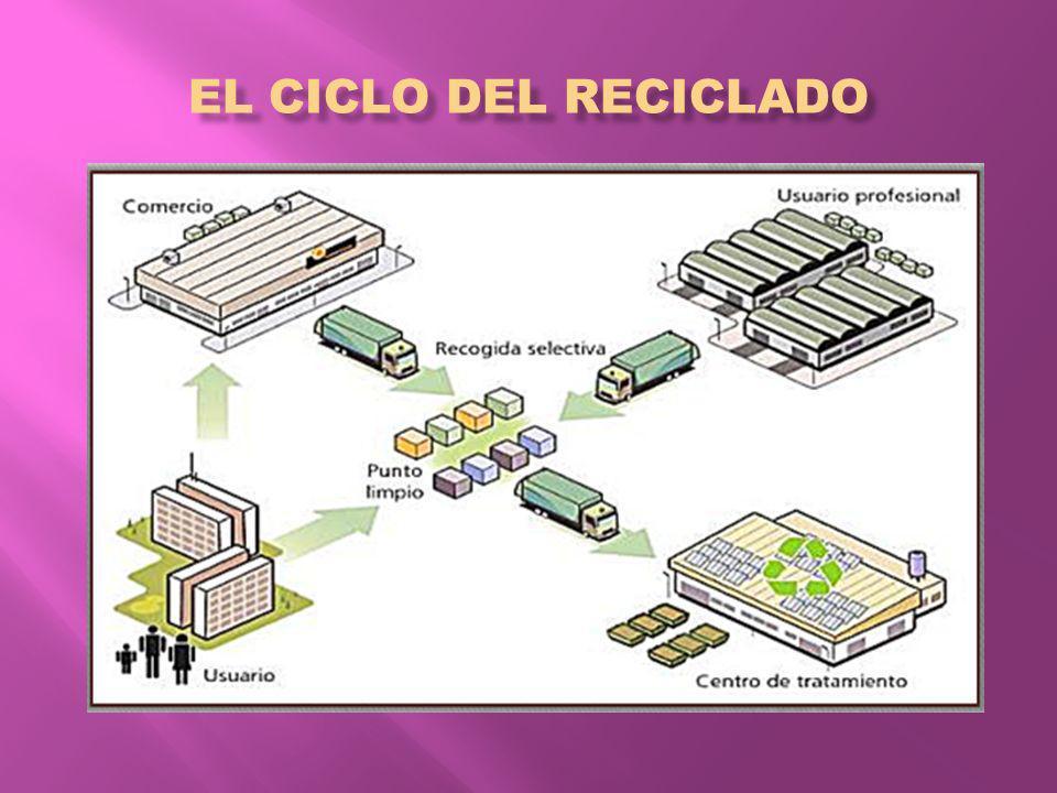EL CICLO DEL RECICLADO
