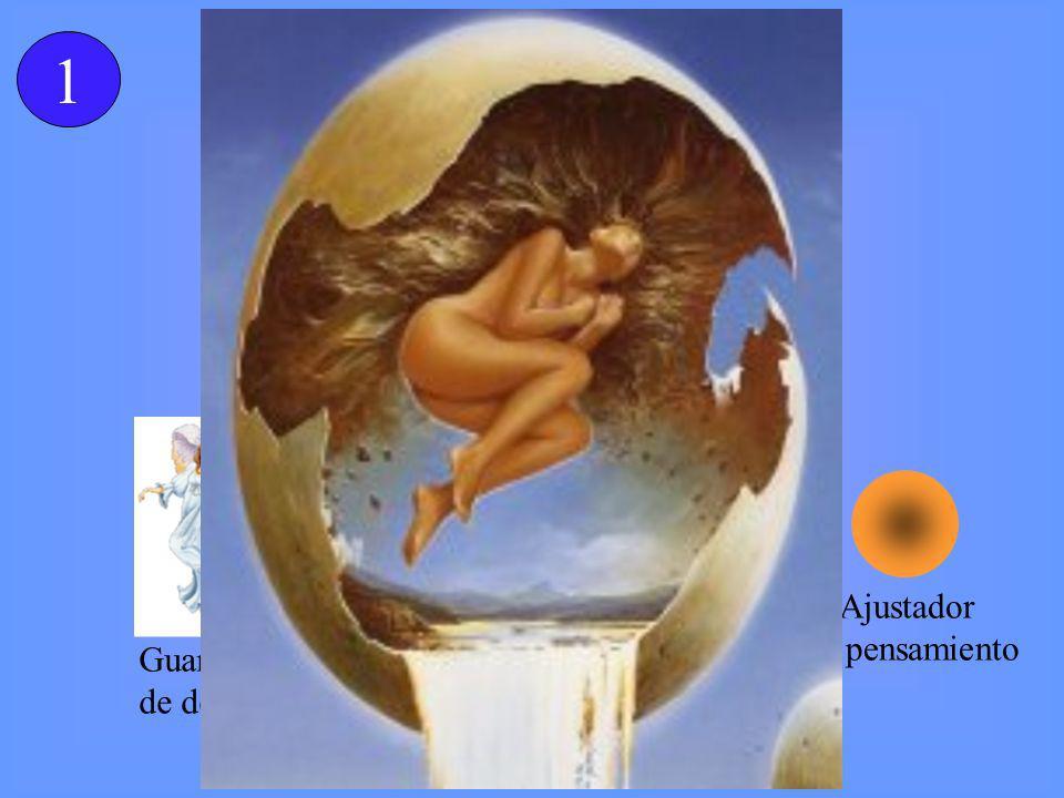 CÁMARA DE RESURRECCION Guardián de destino Ajustador del pensamiento Portador De vida Arcángel de resurrección 1