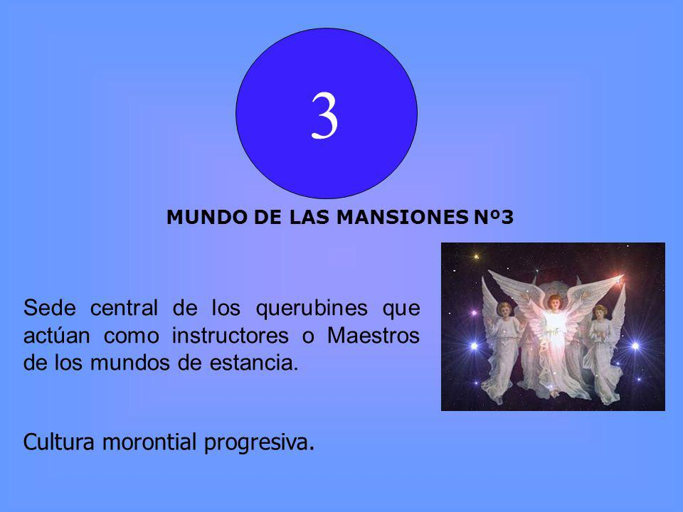 3 MUNDO DE LAS MANSIONES Nº3 Cultura morontial progresiva.