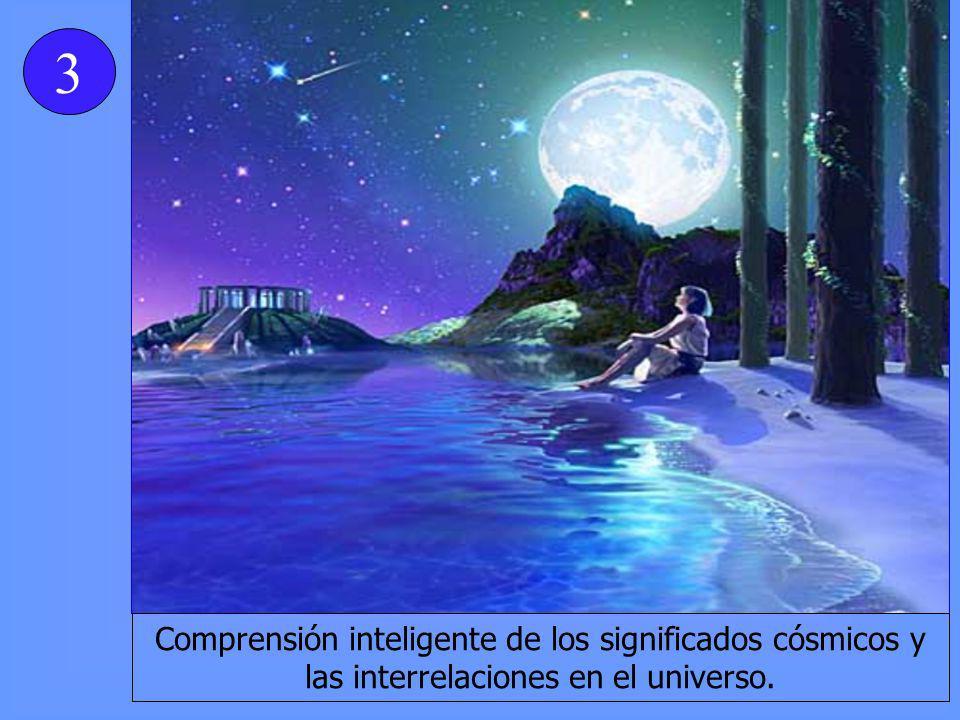 Comprensión inteligente de los significados cósmicos y las interrelaciones en el universo. 3