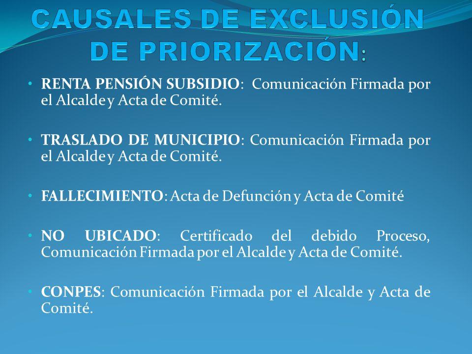 Muerte del beneficiario.: Certificado de Defunción y Resolución Administrativa.