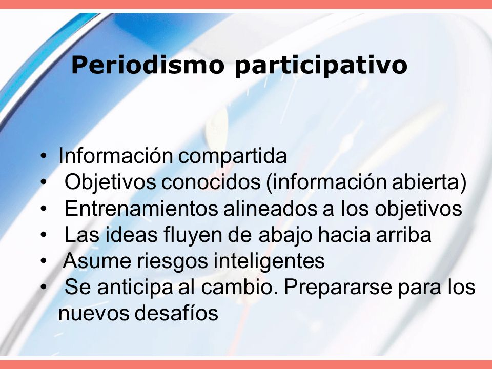 Periodismo de oferta Información en manos de pocos La estrategia es un secreto Entrenamiento no sistematizado. Verticalismo: manera de hacer las cosas
