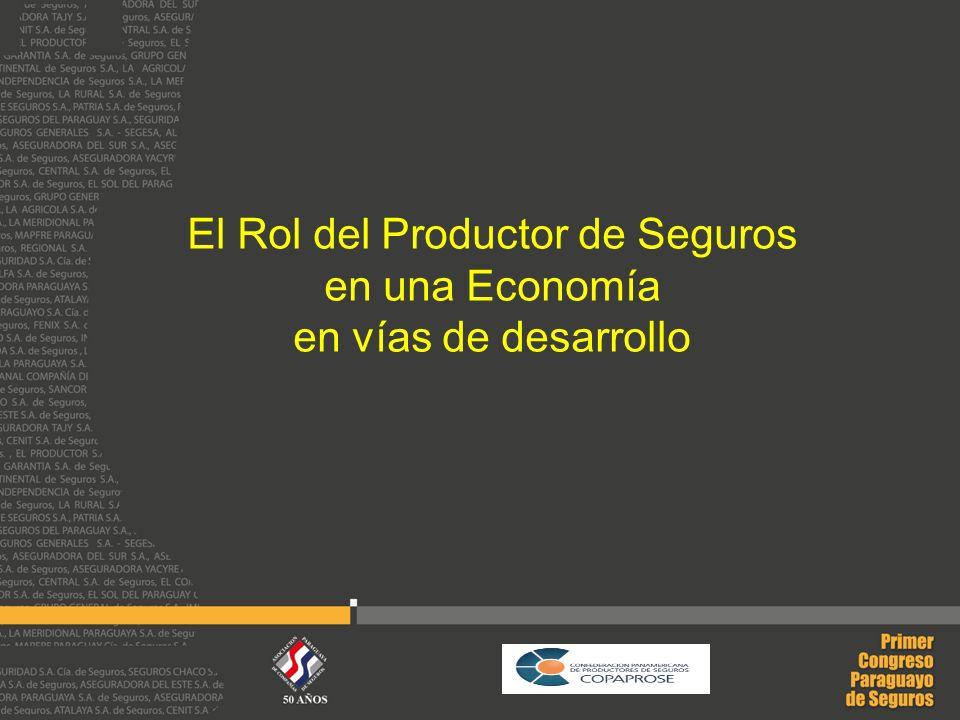 El Rol del Productor de Seguros en una Economía en vías de desarrollo