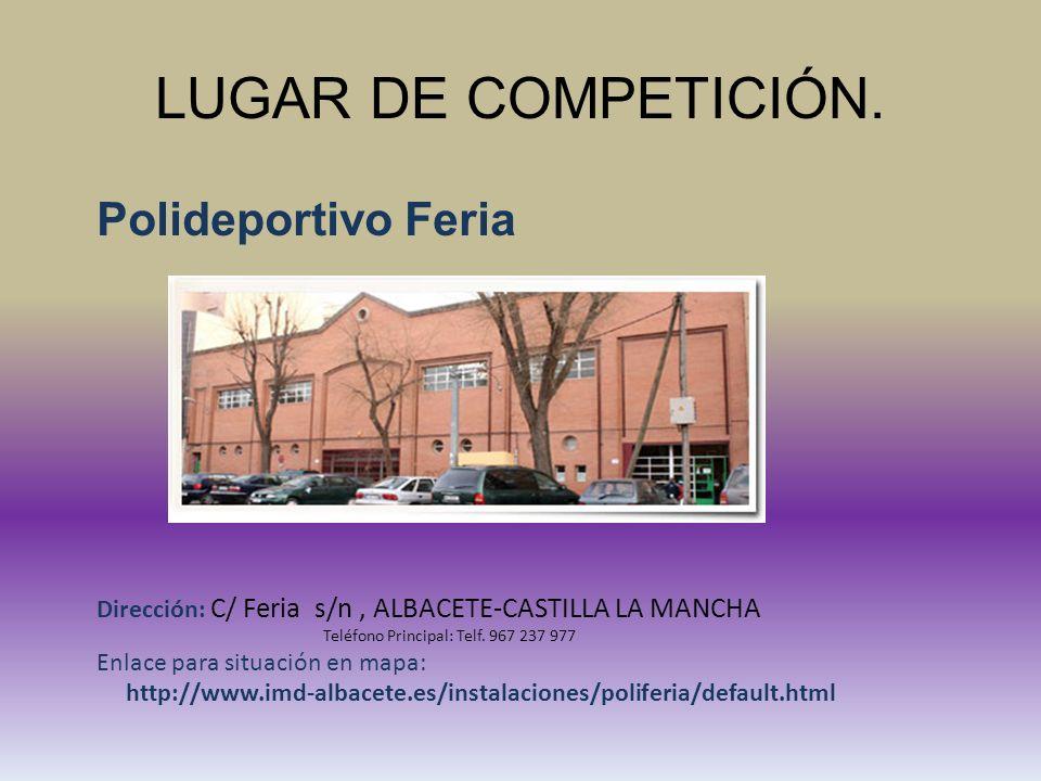 OFICINA DE COMPETICIÓN.