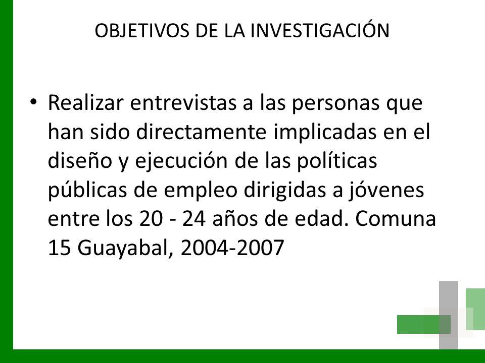 CARACTERISTICAS DE LA INVESTIGACIÓN Sector: Sector: Comuna 15 Guayabal.