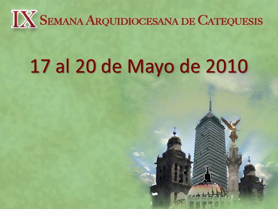17 al 20 de Mayo de 2010