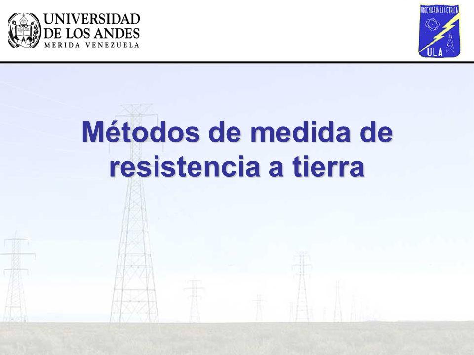 Métodos de medida de resistencia a tierra