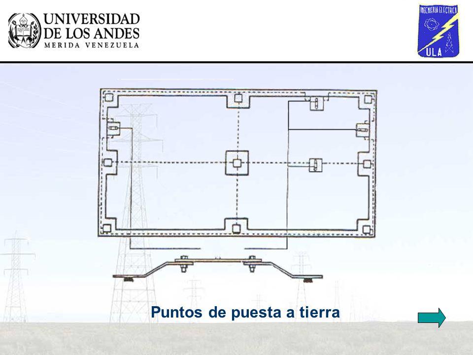 Esquema de un sistema de p.a.t (vista en alzado)