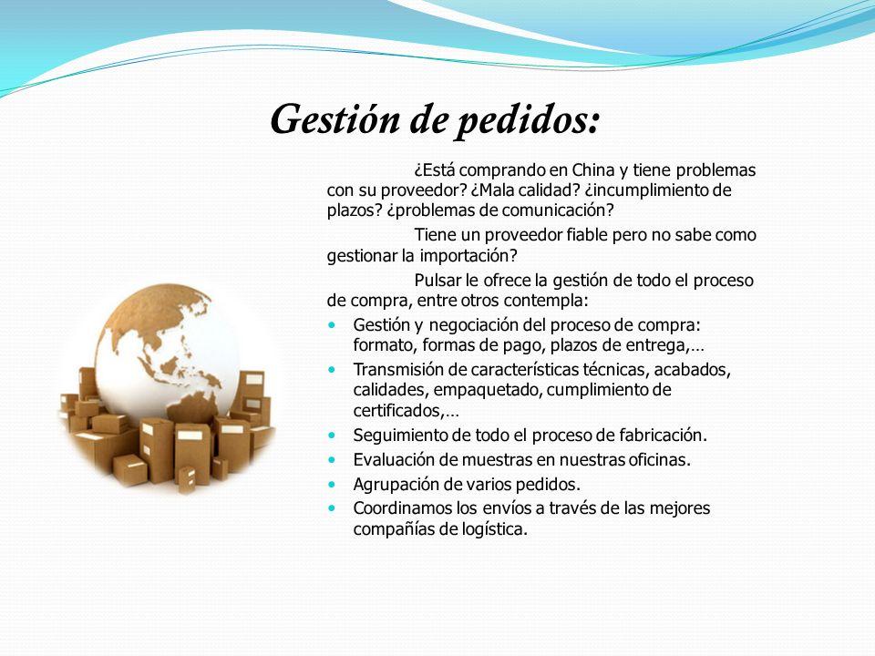 Control de calidad: Se define en su metodología y alcance conjuntamente con el cliente.