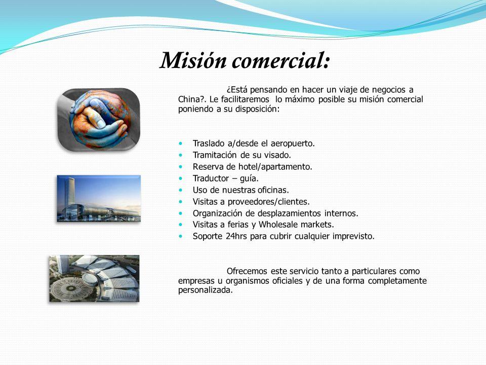 Honorarios por producto y container: Búsqueda de proveedores y gestión del pedido.