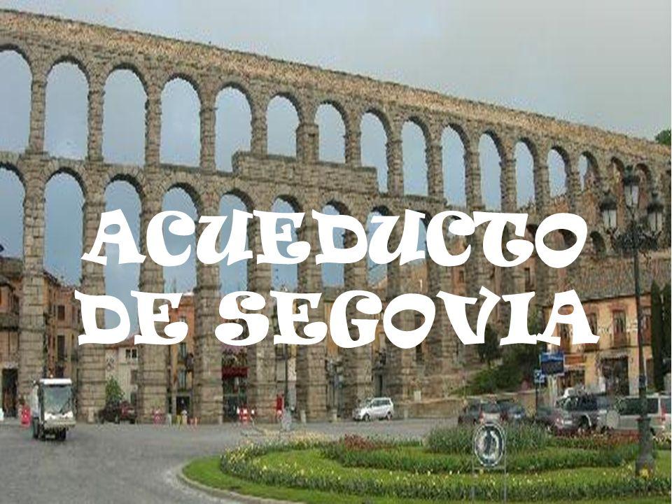 El Acueducto de Segovia es la obra de ingeniería civil romana más importante de España1 y es uno de los monumentos más significativos y mejor conservados de los que dejaron los romanos en la península Ibérica.