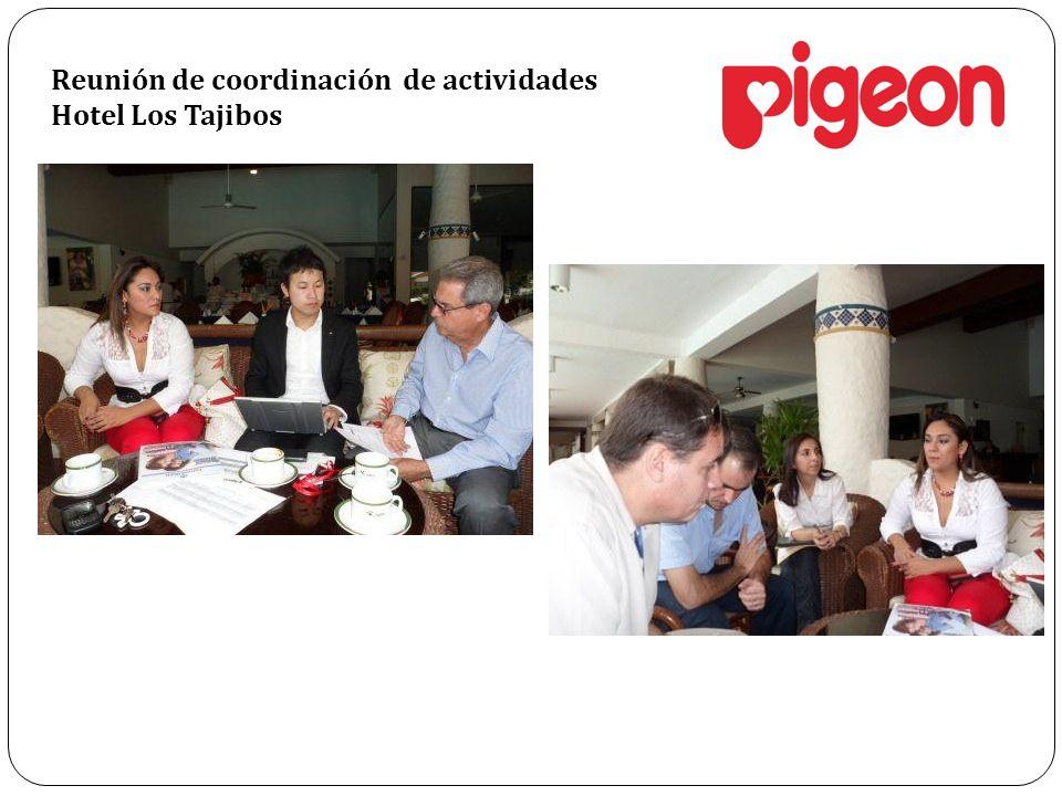 Reunión de coordinación de actividades Hotel Los Tajibos