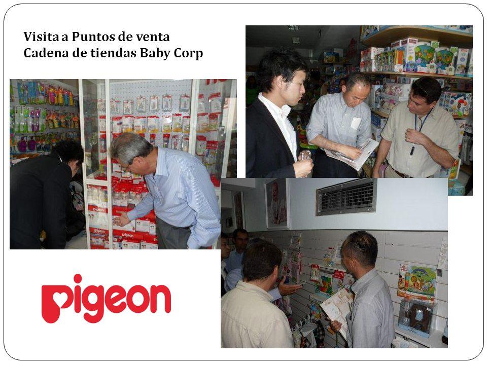 Visita a Puntos de venta Cadena de tiendas Baby Corp