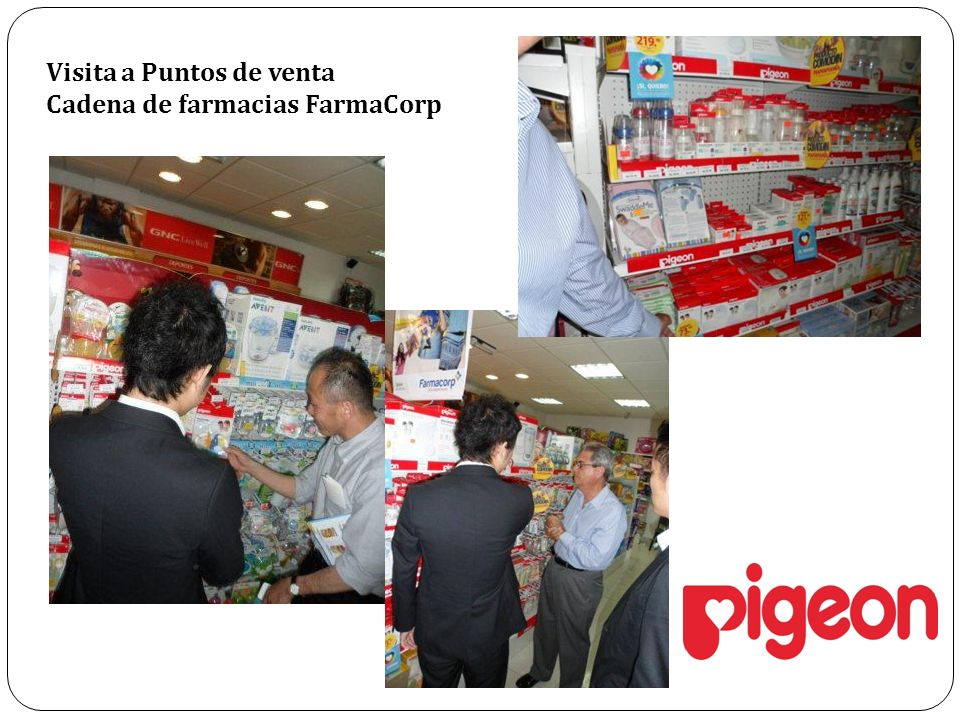 Visita a Puntos de venta Cadena de farmacias FarmaCorp