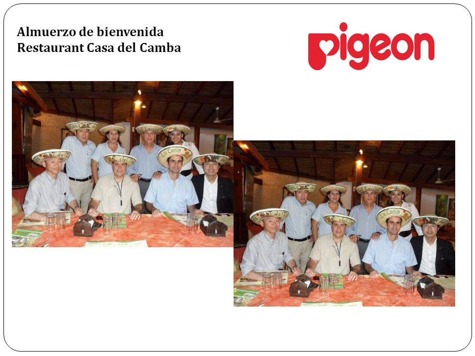 Almuerzo de bienvenida Restaurant Casa del Camba
