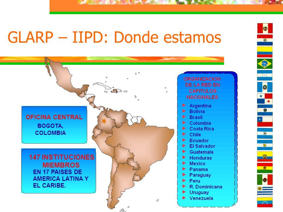 GLARP – IIPD: Donde estamos