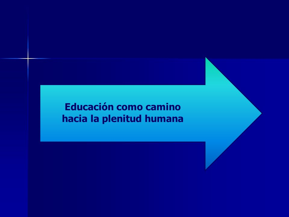 Educación como camino hacia la plenitud humana