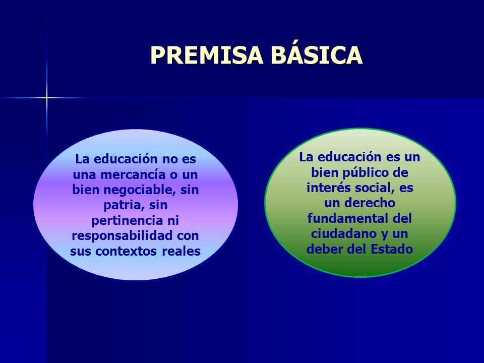 Hemos de consolidar un acuerdo entre los países de Latinoamérica y el Caribe, cuyo propósito sea fortalecer la calidad de la E.S.