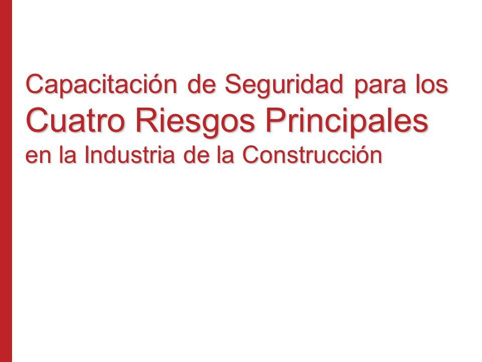 Capacitación de Seguridad para los Cuatro Riesgos Principales en la Industria de la Construcción