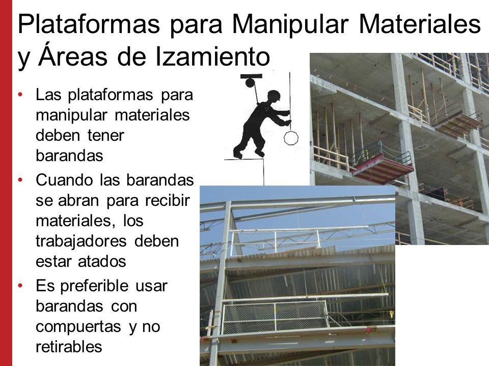 Vías de Acceso Se recomienda usar barandas con cierto margen de espacio libre alrededor de la escalera Tenga cuidado de tropezarse en las partes superiores de las escaleras y escalas