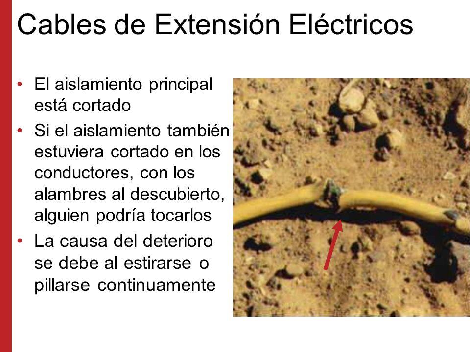 Polaridad Invertida El alambre activo y neutro están invertidos Incluso si un interruptor está apagado, el circuito podría estar activo