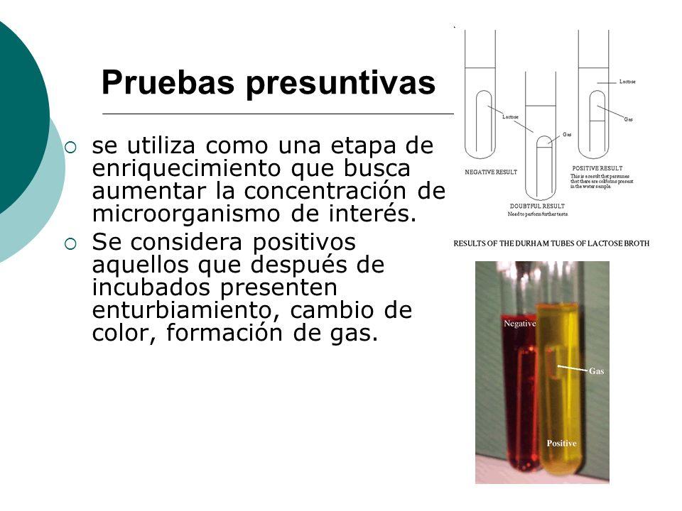 se utiliza como una etapa de enriquecimiento que busca aumentar la concentración de microorganismo de interés.