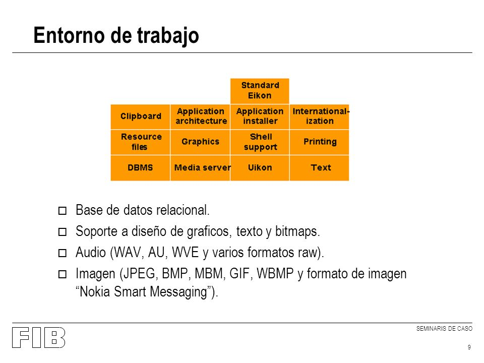 SEMINARIS DE CASO 10 Comunicación o Basada en tres niveles: o Serie: Puertos serie, infrarojos, modems.