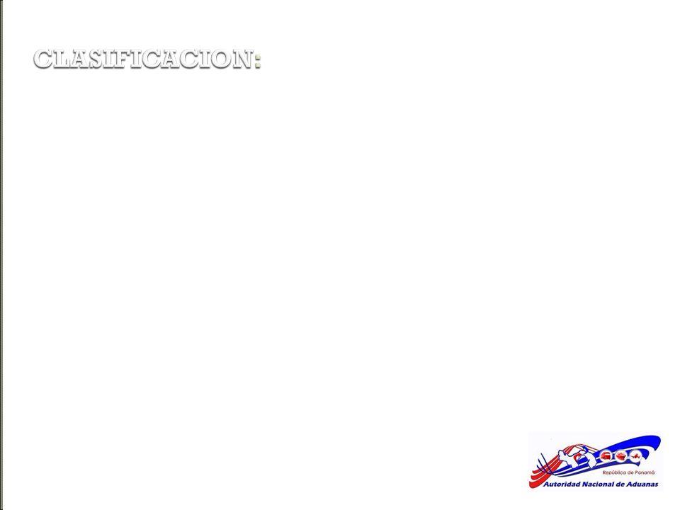 CLASIFICACION: ZONAS FRANCAS INDUSTRIALES ZONA PROCESADORA PARA LA EXPORTACION Son áreas en las cuales están establecidas empresas que introducen merc