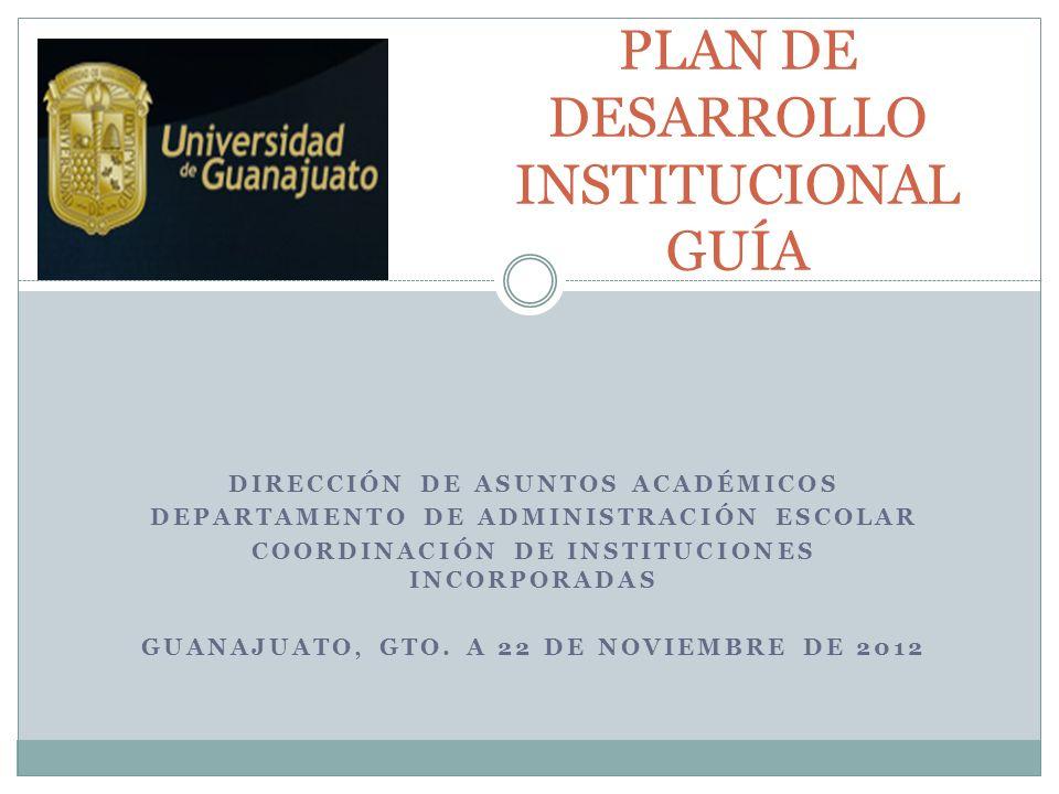 1.Identificar la misión de la institución. 2. Definir la visión del futuro.