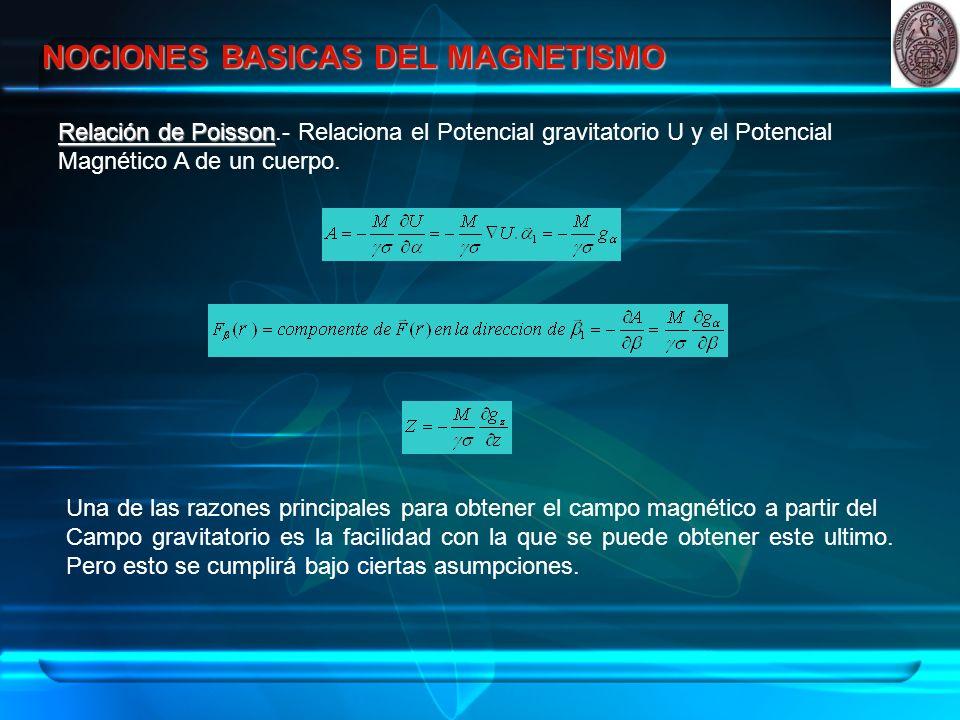 INSTRUMENTOS PARA MEDICION DEL CAMPO MAGNETICO Estos instrumentos son usados para medir variaciones de campo magnético del orden de 1 a 10 γ.