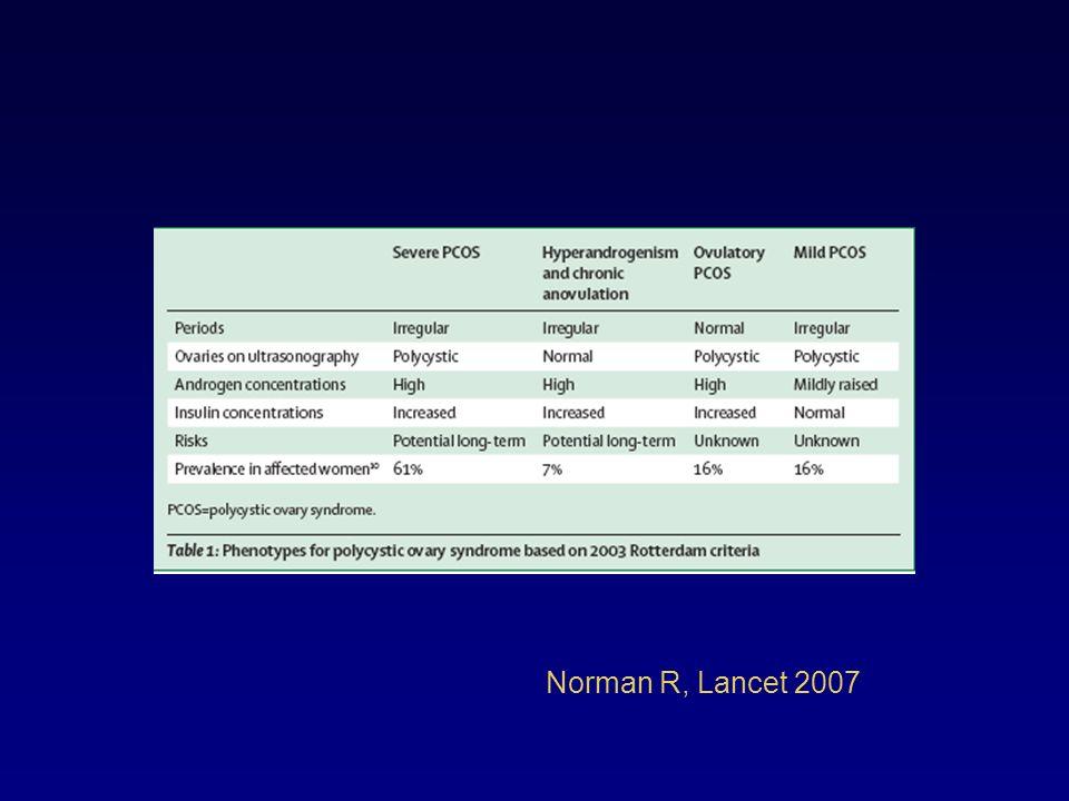 Norman R, Lancet 2007
