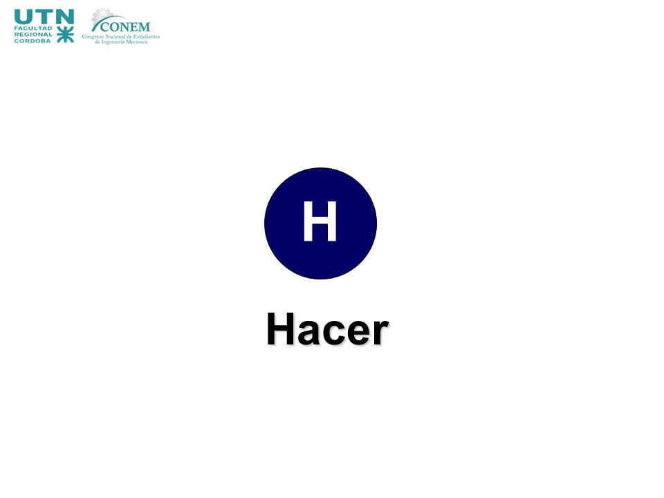H Hacer