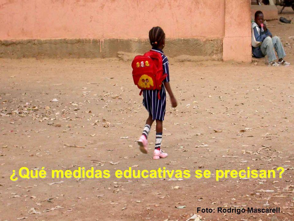 ¿Qué medidas educativas se precisan? Foto: Rodrigo Mascarell