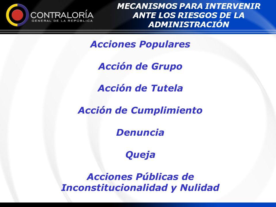 Desarrollo Normativo: Constitución Política art.