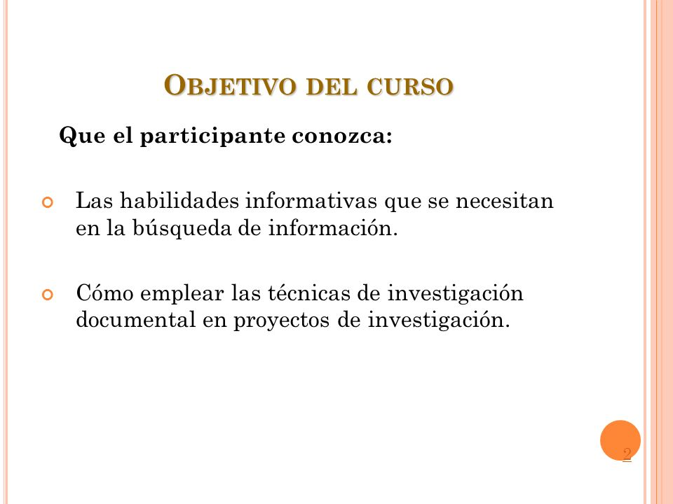 H ABILIDADES INFORMATIVAS.C OMPETENCIAS P RINCIPALES.
