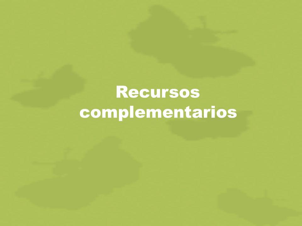 Recursos complementarios