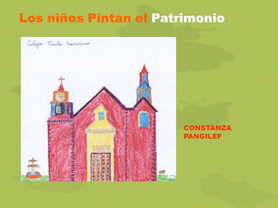 Los niños Pintan el Patrimonio CONSTANZA PANGILEF