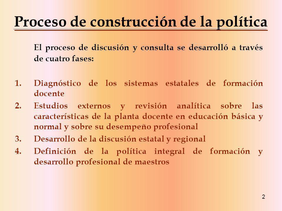 3 Principales logros, avances y retos del sistema nacional de formación, actualización, capacitación y superación profesional para maestros de educación básica