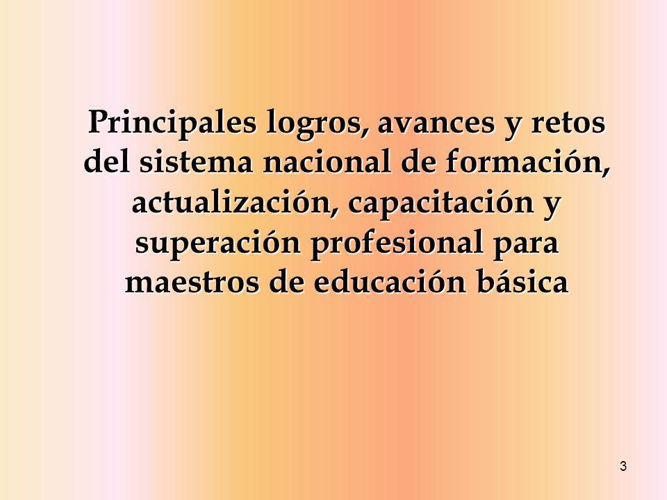 14 Propósitos y enfoque de la política nacional Para ejercer la docencia se necesitan determinados conocimientos, destrezas y actitudes que son resultado de un proceso formativo particular del profesional de la enseñanza.