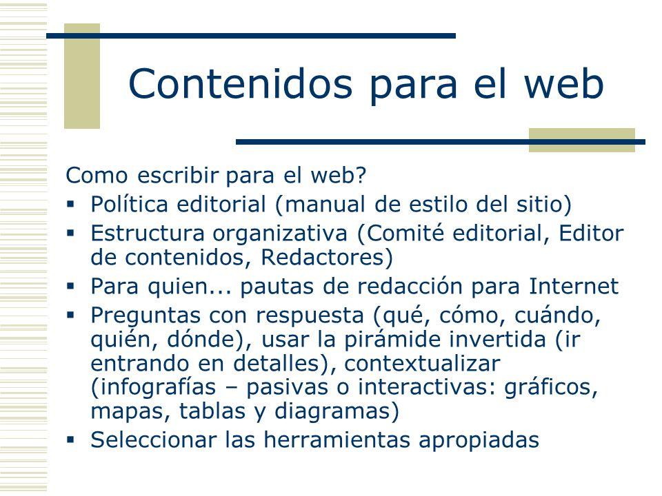 Como escribir para el web.