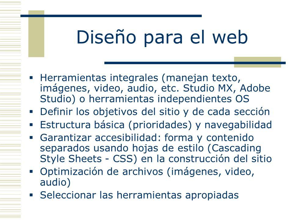 Herramientas integrales (manejan texto, imágenes, video, audio, etc.