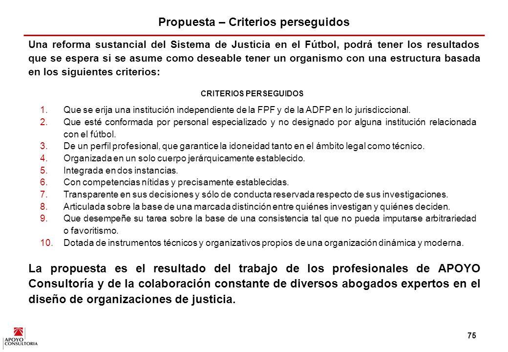 74 Además, el público percibe un inadecuado funcionamiento de las comisiones de justicia del fútbol peruano 1/ y considera que son entidades que tienden a favorecer a los equipos grandes.