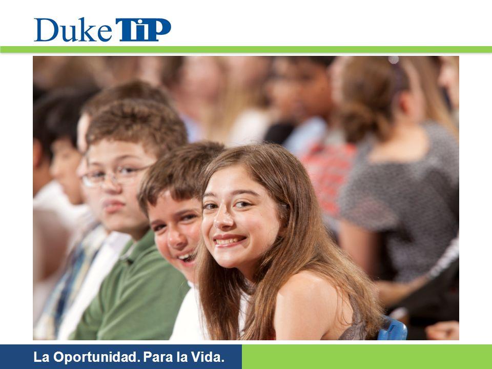 Duke TIP es una organización educativa e independiente con actividad no lucrativa que se dedica a la identificación y apoyo de los alumnos académicamente dotados.