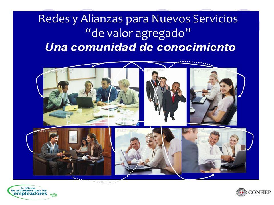 Redes y Alianzas para Nuevos Servicios de valor agregado
