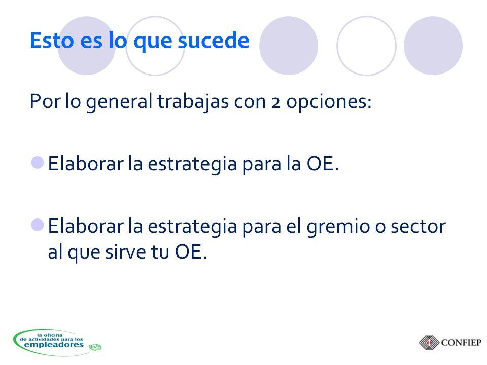 Estrategia 5: Mayor dimensión Asegúrate de generar en los servicios… ¡Frescura.