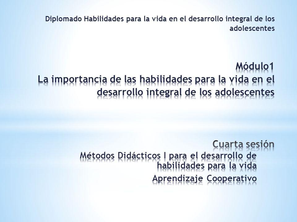 * Proceso en el que gradualmente se va desarrollando en sus miembros el concepto de ser mutuamente responsables del aprendizaje de cada uno y de los demás o en otras palabras ser todos para uno y uno para todos (Díaz- Barriga y Hernández, 2002).
